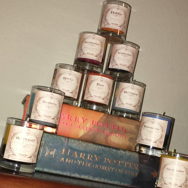 Harry Potter Themed Candles - Vegan Candles - Hand Poured Candles ...