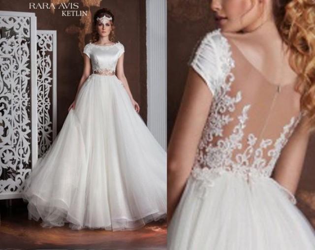 Bridal Gown Milora Unique Wedding Gown Simple Wedding: Unique Wedding Gown KETLIN, Simple Wedding Dress, Bride