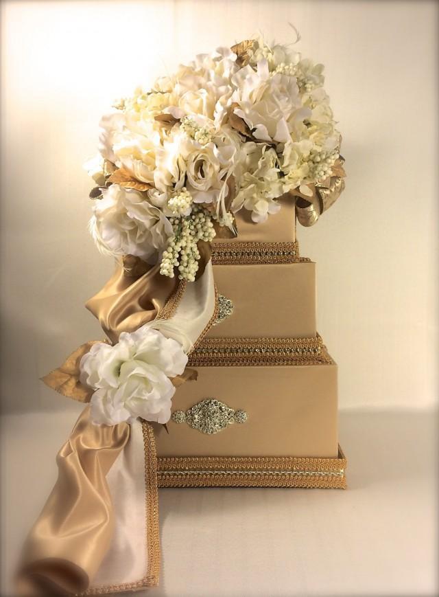 Wedding Gift Card Holder With Lock : Card Holder Secured Lock Wedding Card Box, Diamond Wedding Card Box ...