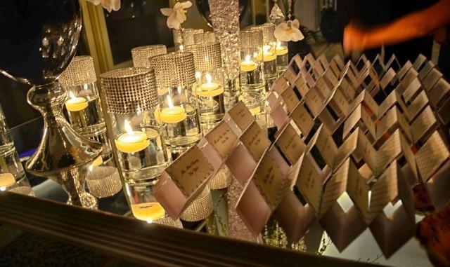 Metallic Elegant - Wedding Place Cards DEPOSIT #2416801 - Weddbook