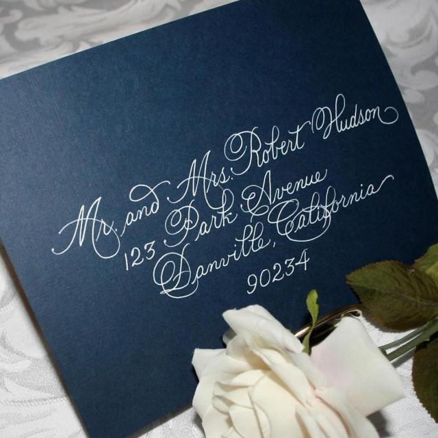 Calligraphy Wedding Envelope Addressing Discount