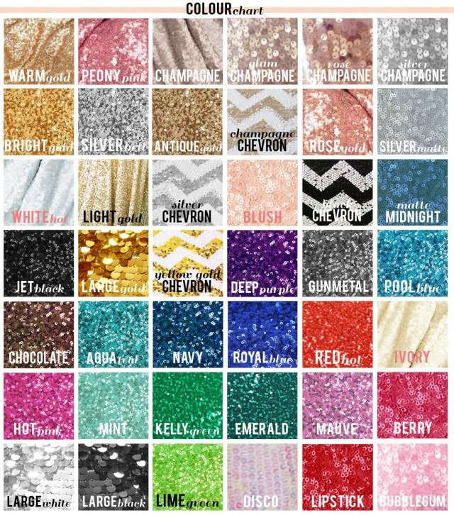 Sequin Fabric Swatch Sample! Choose Your Color! Free Ship ...