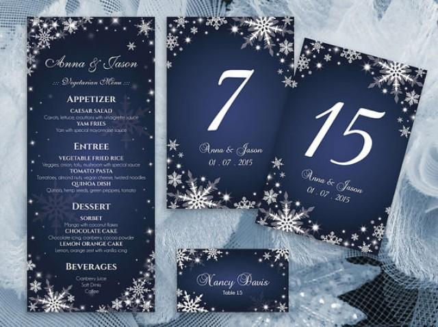 wedding photo - 15% OFF - DIY Printable Wedding Table Package Deal Templates