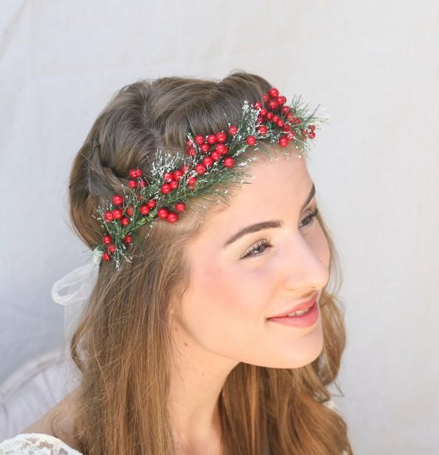 how to make a floral headpiece