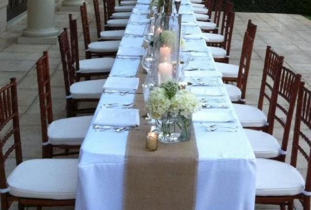 Rustic Wedding Table Runners Burlap 12