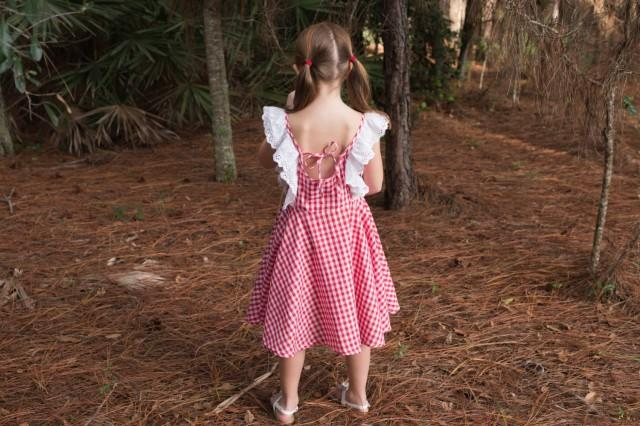 farm flower girl dress rustic girls dress country On farm girl wedding dresses