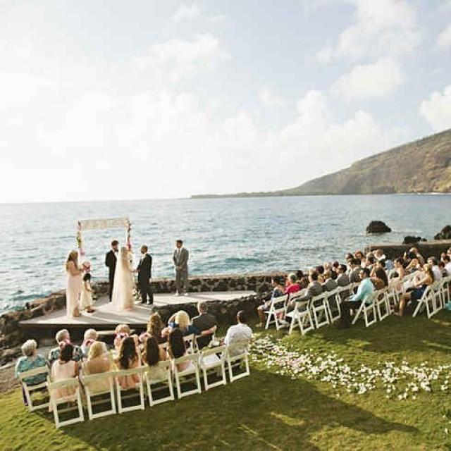 Destination Wedding Cake Hawaii