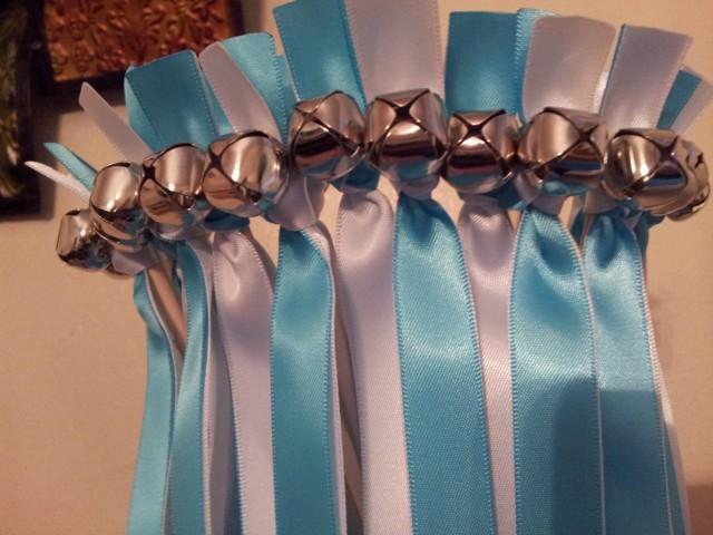 75 Twirling Wedding Wand Ribbon Bell Streamers Wedding
