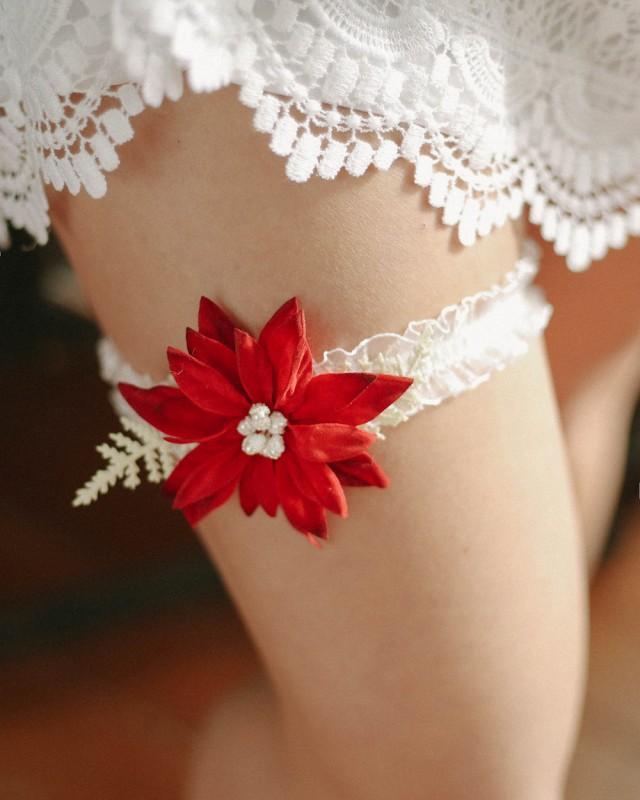 how to make a bridal garter belt