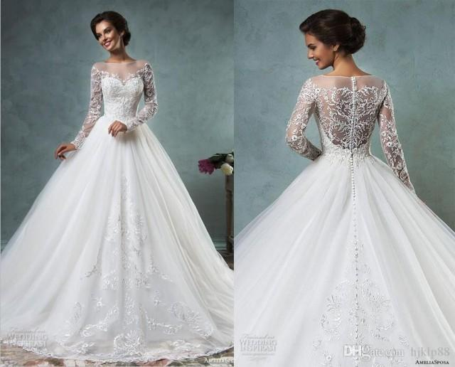 Bridal gowns online best selling 2016 new amelia sposa for Selling your wedding dress