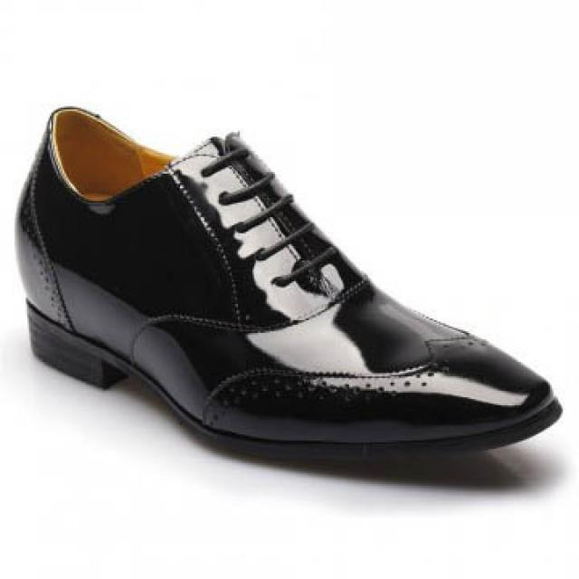 "wedding photo - elevated dress shoes to make men taller 7cm/2.76inch,Coupon Code ""SAVE10""  get $10 off."