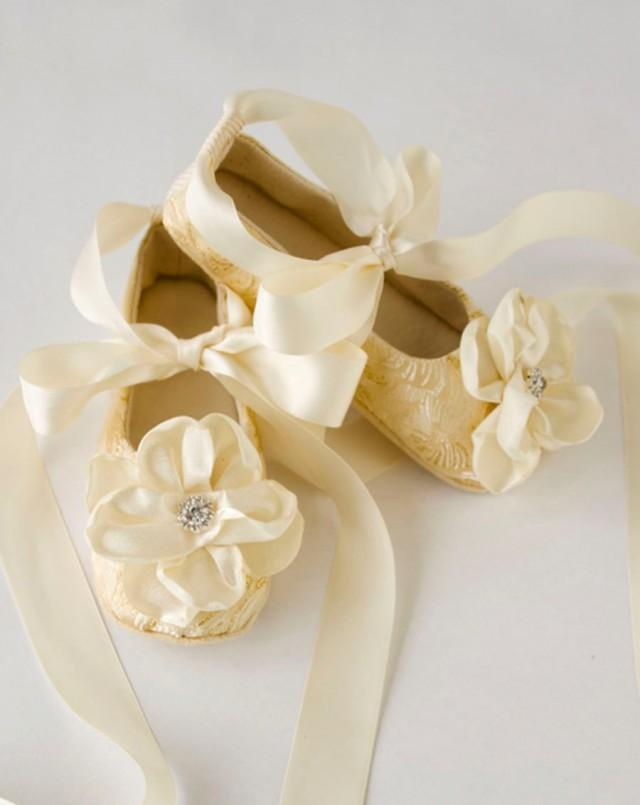 Girls Ivory Occasion Shoes