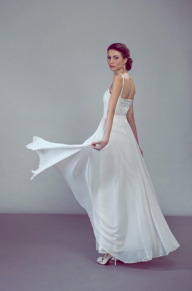 dress venus chiffon bridal maxi skirt 2424125 weddbook