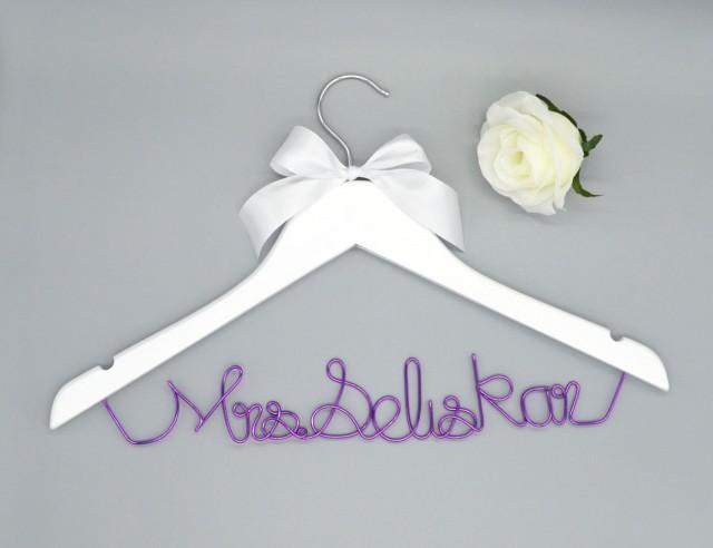 Promotions silver wedding hanger custom wedding hanger for Custom hangers for wedding dress