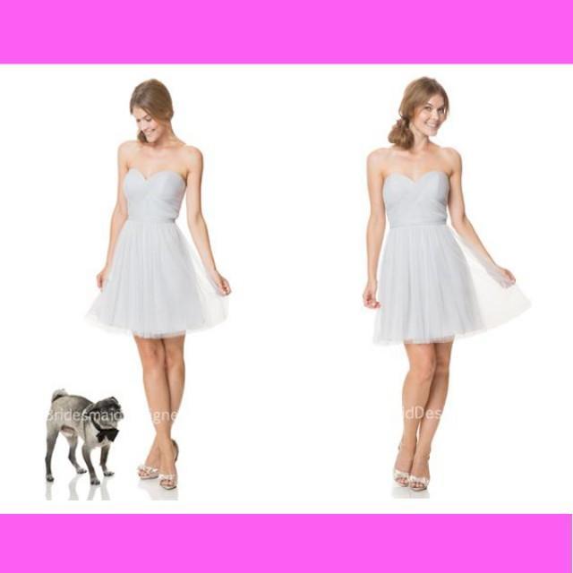 wedding photo - Short Wedding Dresses, BridesmaidDesigners