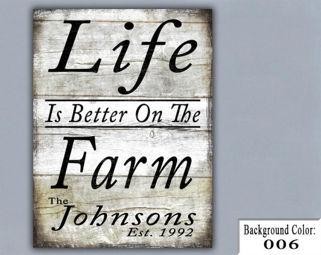 Farm Handmade Sign Wooden Sign Wood Sign Home Decor
