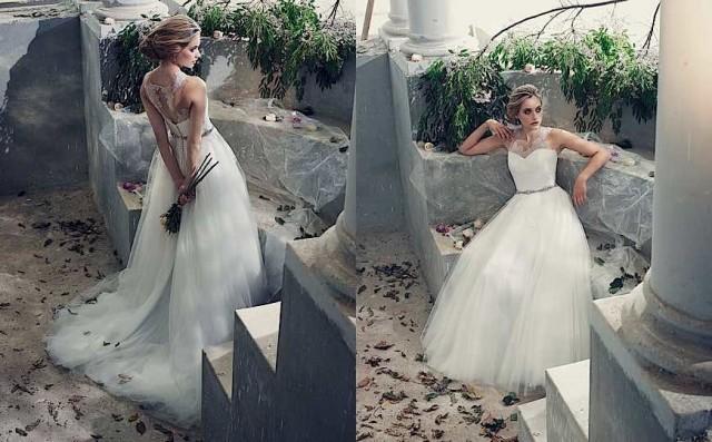 8a9cccbdc95 Elbeth Gillis Wedding Dresses With Elegant Sophistication - Weddbook