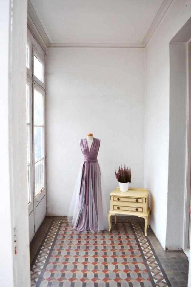 Tulle skirt detachable tulle skirt for long dress for Tulle skirt under wedding dress