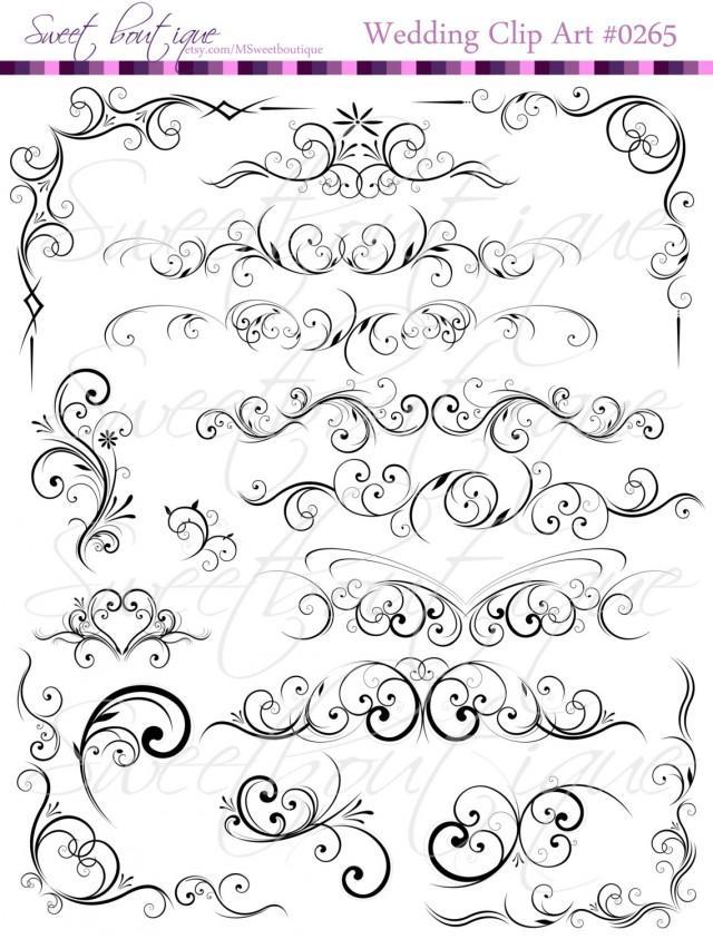 free wedding decorative clip art - photo #33