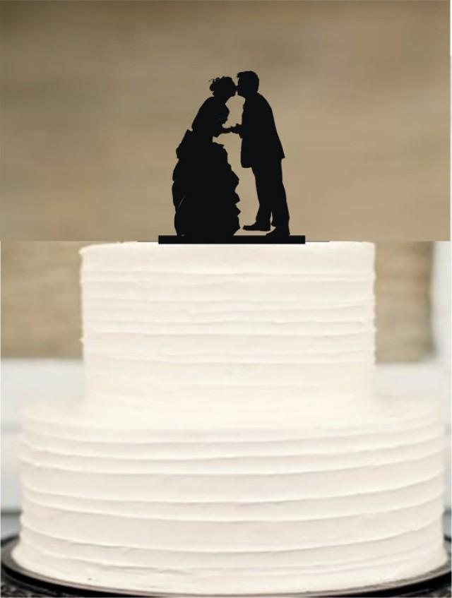 Silhouette Wedding Cake Topper Australia Bride And Groom