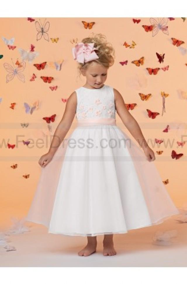 Sweet Beginnings By Jordan Flower Girl Dress Style L677 - NEW ...