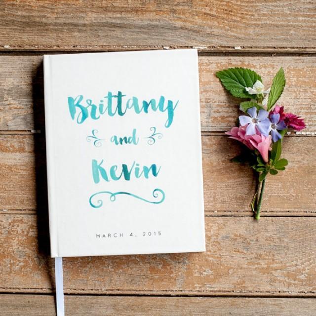 ... Design Wedding Gift Keepsake Watercolor Blue Aqua #2428978Weddbook