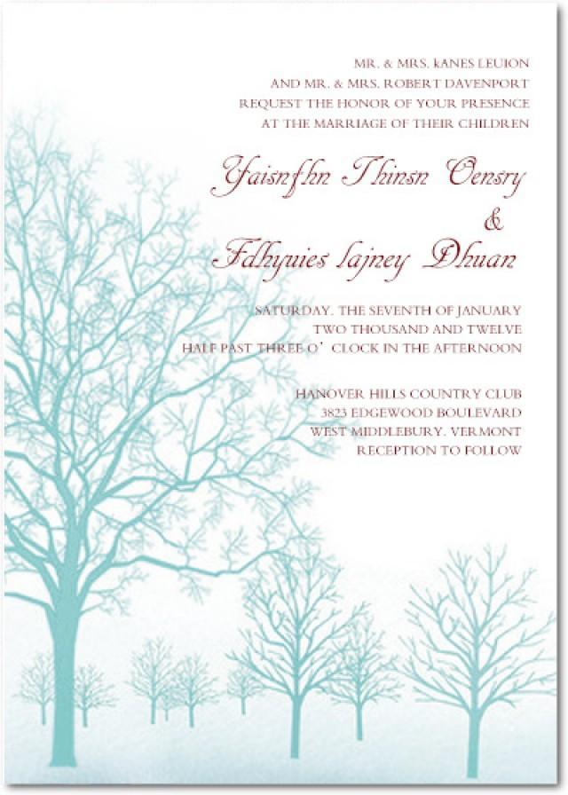 Wamyood Uploads Weddbook – Fall or Winter Theme Invitation Cards