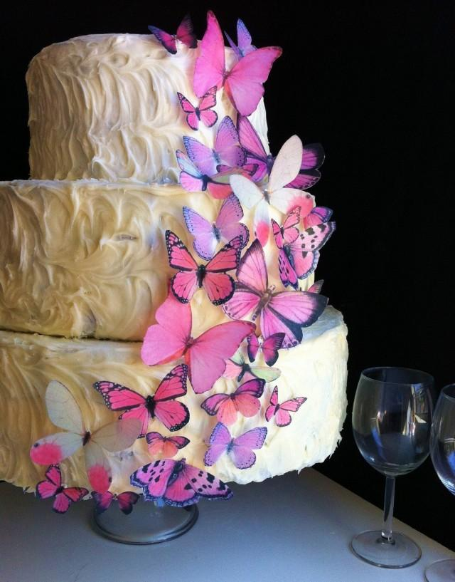 Wedding Cake Topper The Original EDIBLE BUTTERFLIES ...