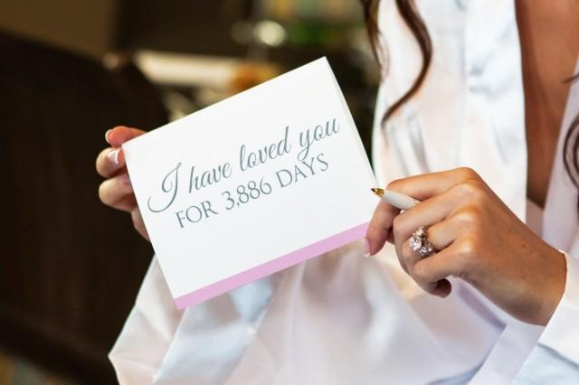 Bride Gifts From Groom On Wedding Day: I Have Loved You For So Many Days Card
