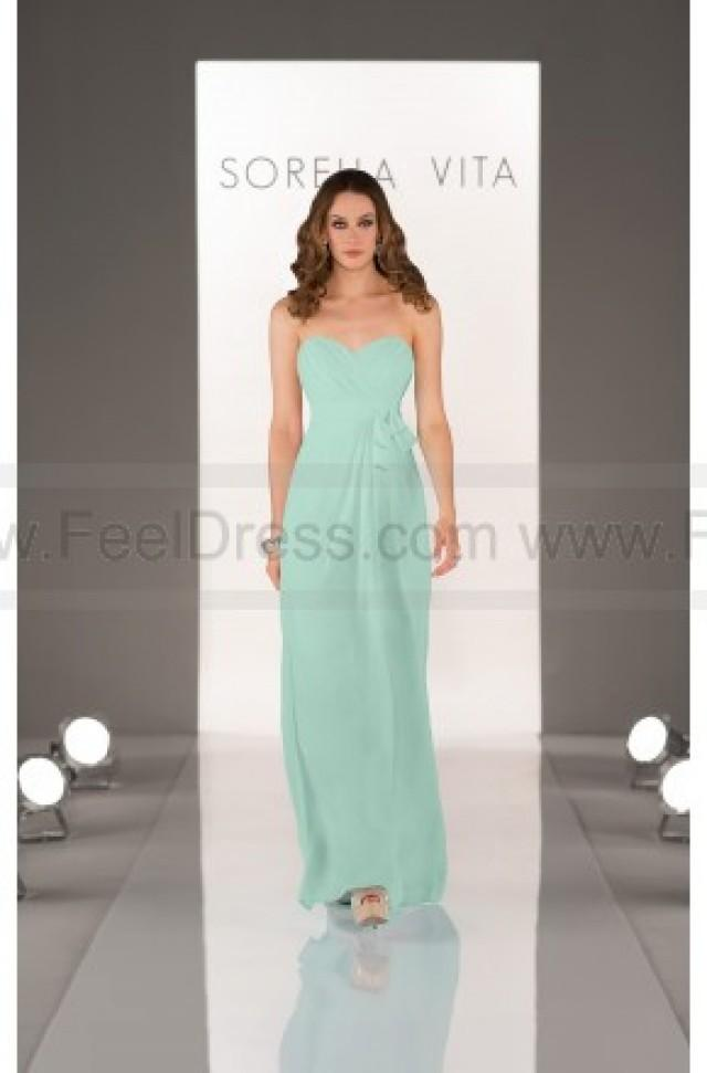 wedding photo - Sorella Vita Mint Green Bridesmaid Dresses Style 8432