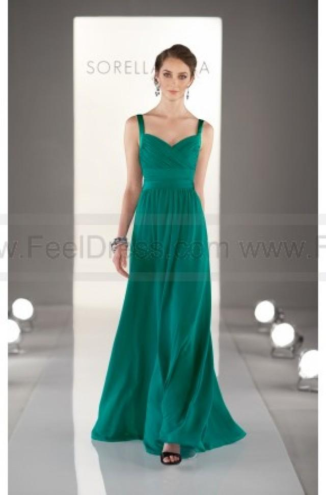 wedding photo - Sorella Vita Mint Green Bridesmaid Dresses Style 8380