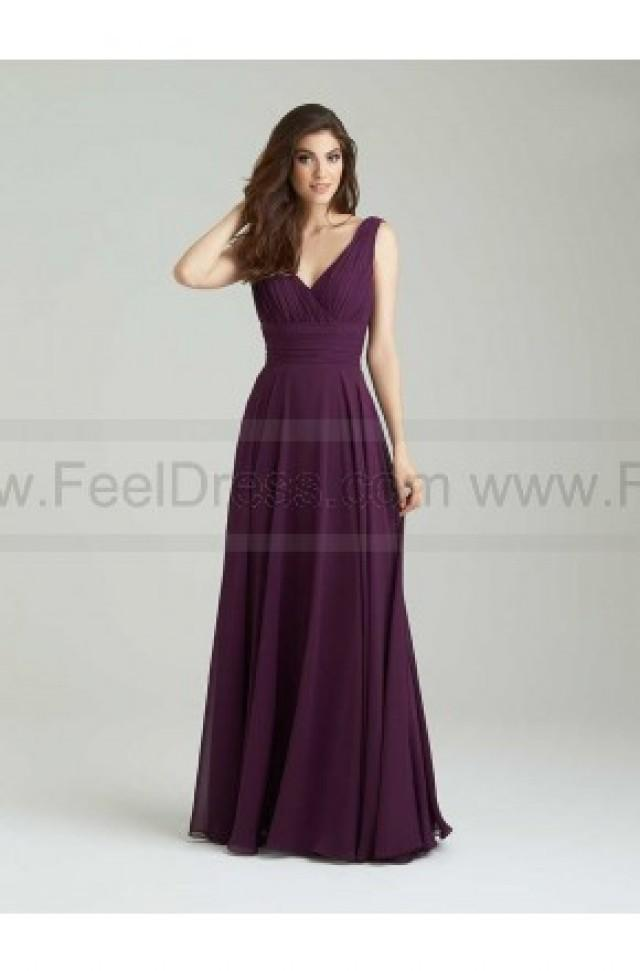 wedding photo - Allur Bridesmaid Dress Style 1455