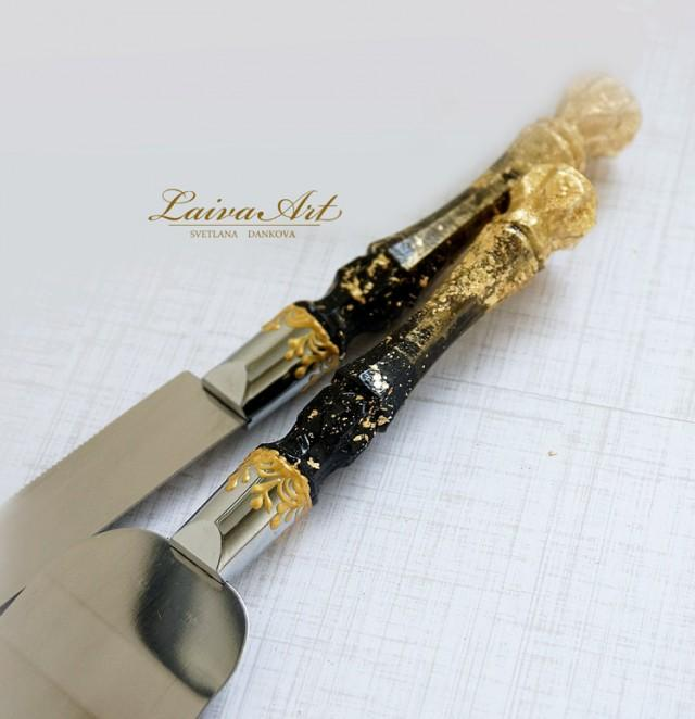 gold wedding cake server set knife cake cutting set wedding cake knife set wedding cake. Black Bedroom Furniture Sets. Home Design Ideas
