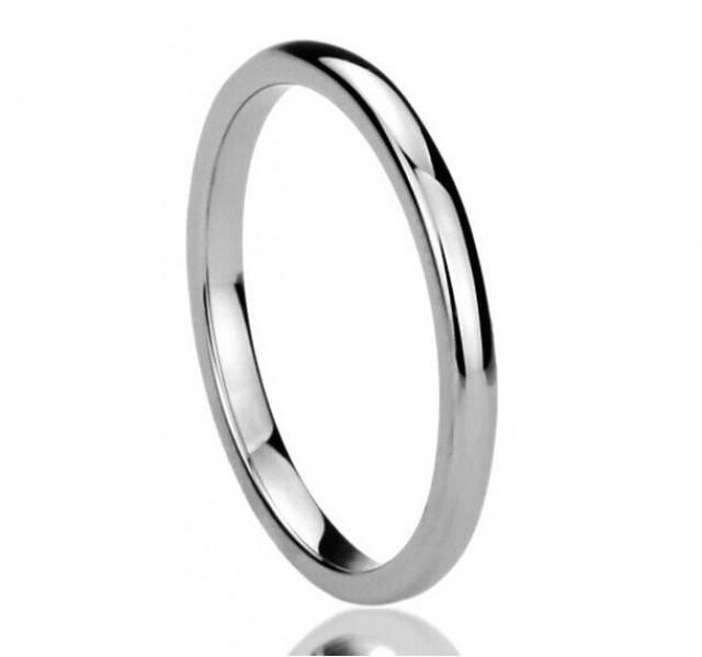 Titanium Wedding Band Titanium RingTitanium Engagement Ring2MM Titanium Comfort Fit Wedding