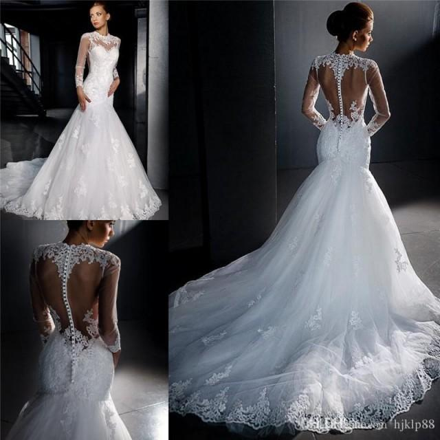 Plus size wedding dresses 2016 new made simple retro ivory for Shop online wedding dresses