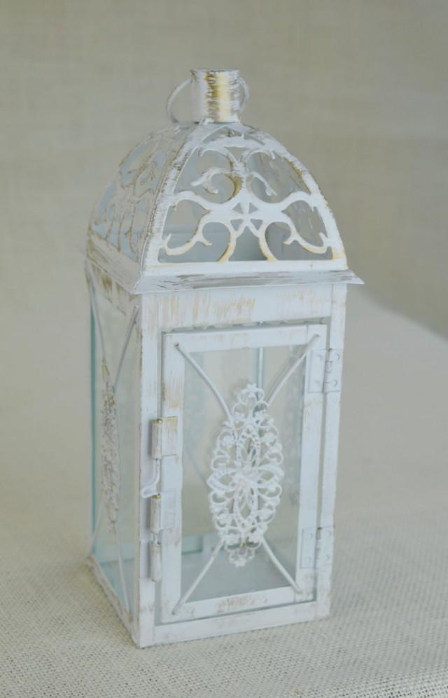 No l wedding inch lantern centerpiece vintage