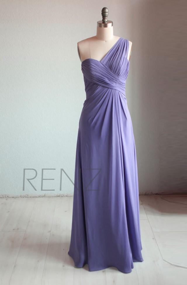 2015 Light Purple Bridesmaid Dress, Backless Pleated Party ...