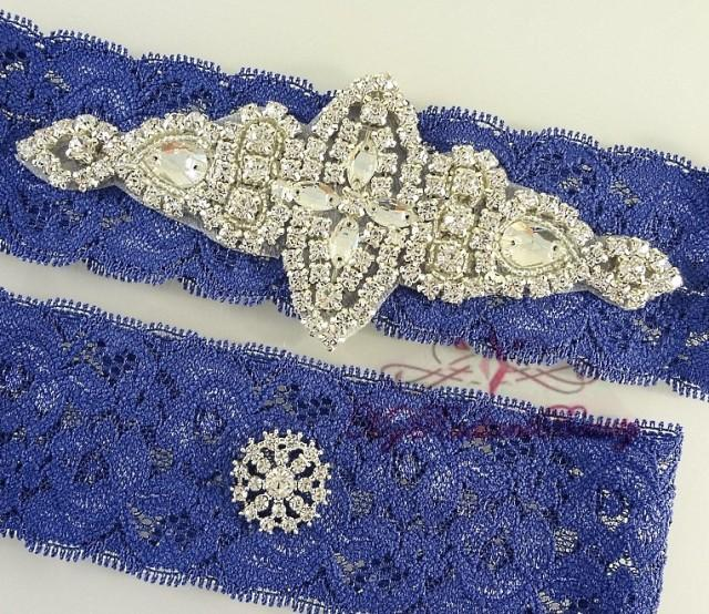 Bridal Garter Wedding Garter Garter Crystal Applique