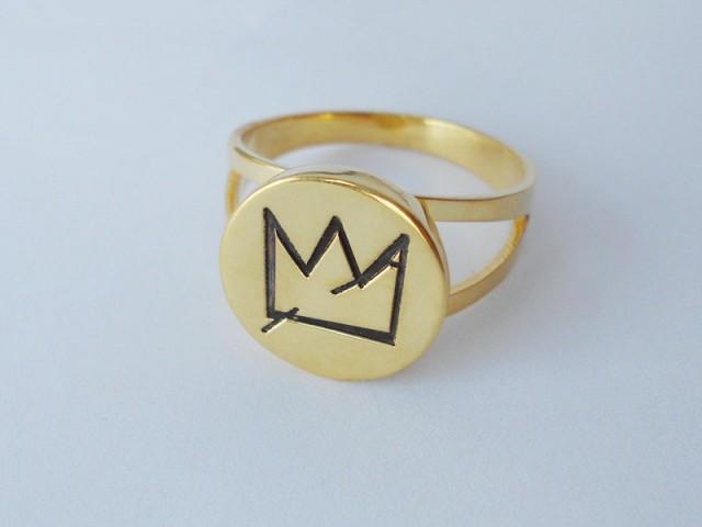 Jean Michel Basquiat S Crown Ring