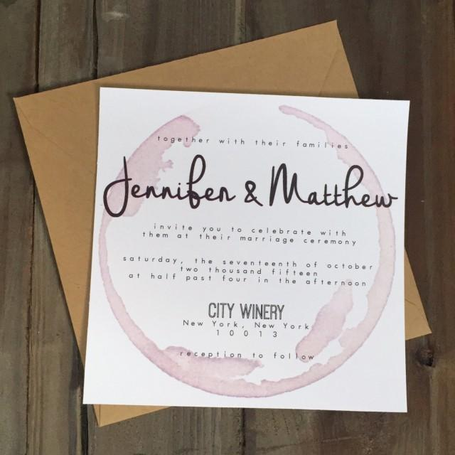 Winery Wedding Invitations: Palomar Winery Wedding Invitation #2441274