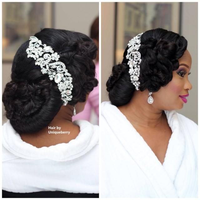 African american wedding hairstyles down