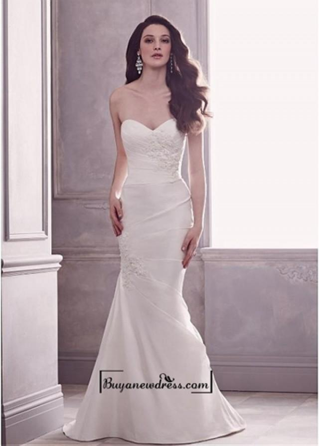 wedding photo - Alluring Taffeta Mermaid Sweetheart Neckline Natural Waistline Wedding Dress