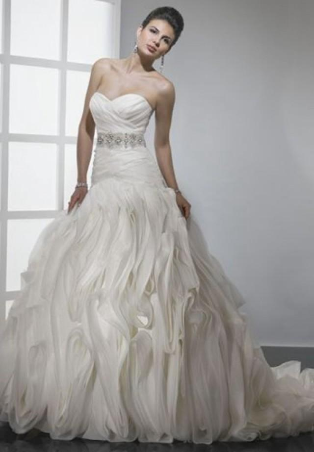 wedding photo - Taffeta Strapless Sweetheart Mermaid Elegant Weding Dress