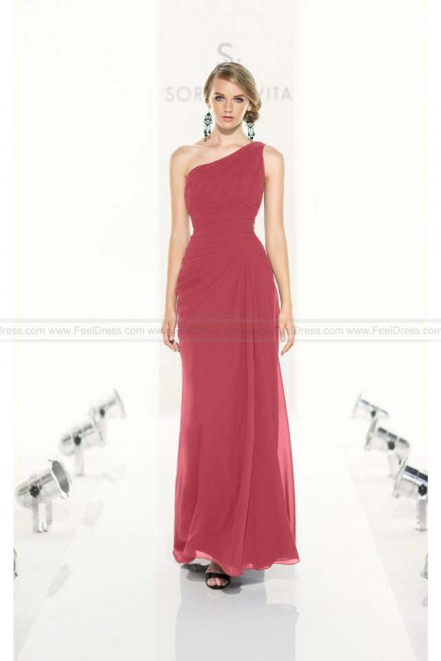wedding photo - Sorella Vita Black Bridesmaid Dress Style 8161