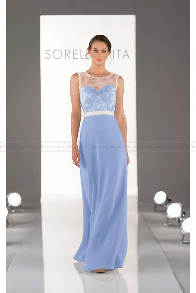 wedding photo - Sorella Vita Blue Bridesmaid Dress Style 8311