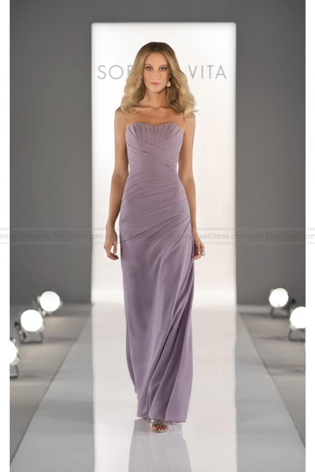 wedding photo - Sorella Vita Lavender Bridesmaid Dress Style 8290