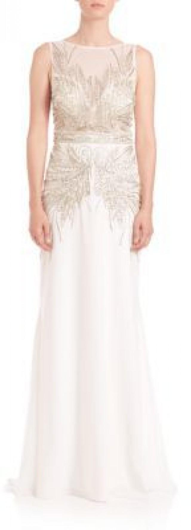 Sue wong beaded illusion gown 2447241 weddbook for Sue wong robes de mariage