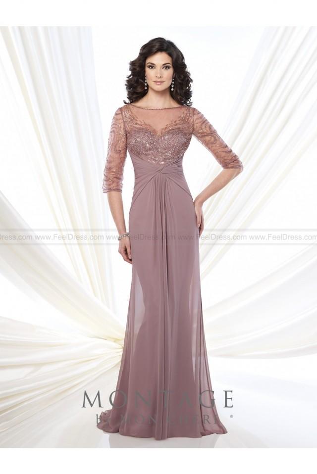 wedding photo - Mon Cheri Montage 215919 Dress