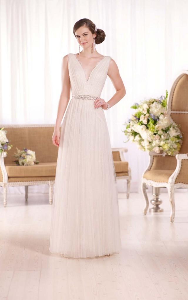 Essense of australia grecian inspired sheath wedding dress for Greek inspired wedding dress