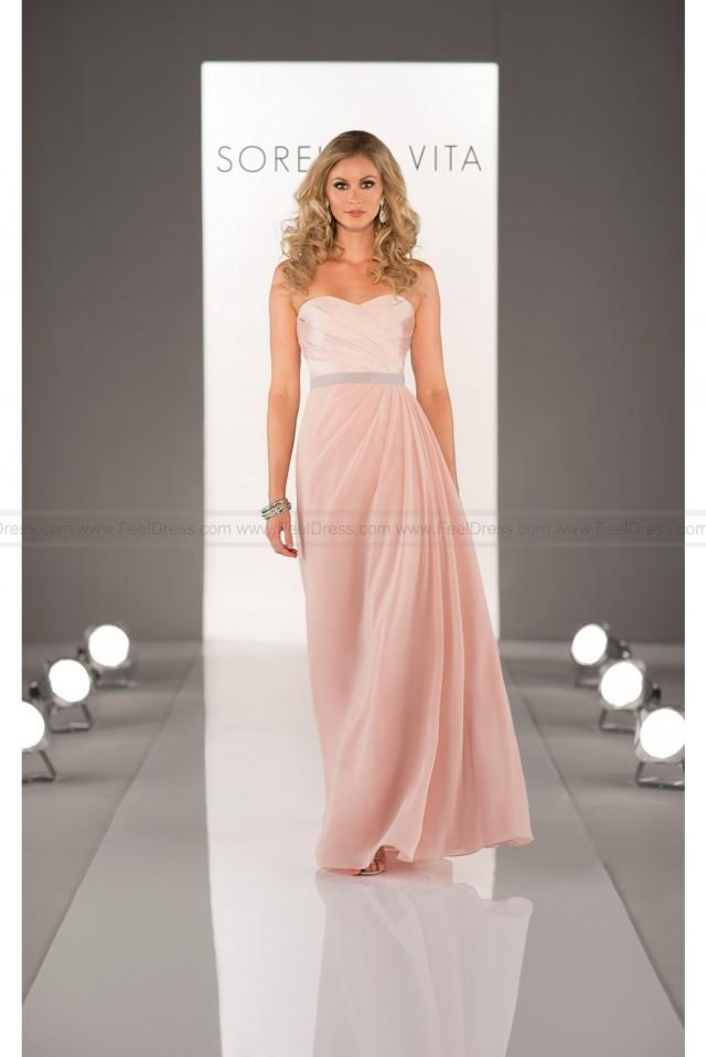wedding photo - Sorella Vita Cute Bridesmaid Dress Style 8424